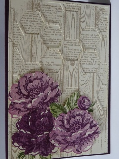 Barbara Williams / Blackberry Stippled Blossom
