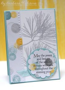 Ornamental Pine - INKspired Blog Hop 6