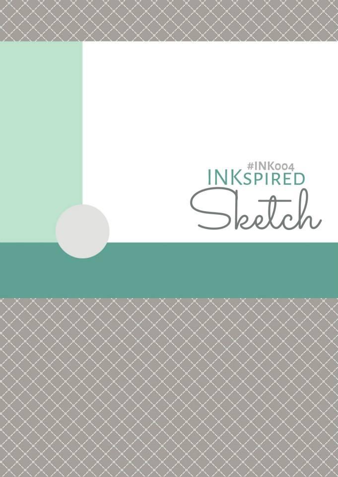 INKspired Sketch Blog Hop 4 - A little Blending (1/3)