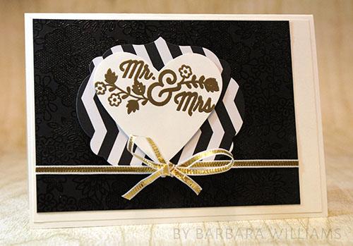 By Barbara Williams | INKspired Blog Hop 11 | Wedding Carc
