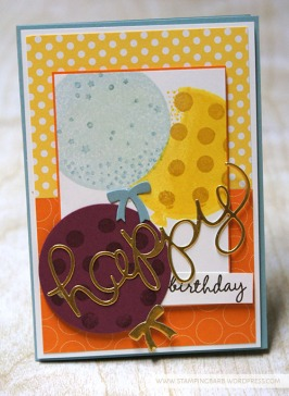 Barbara Williams | Celebrate Today and Hello You Thinlit Dies | Stampin' Up!