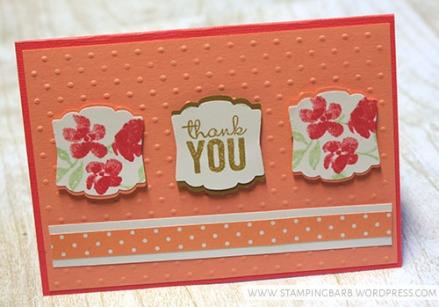 By Barbara Williams   INKspired Blog Hop 14   Printed Petals