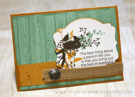 By Barbara Williams | World of Dreams from Stampin' Up!