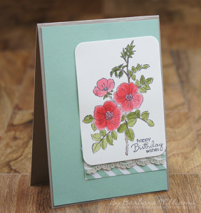Barbara Williams|stampin up| Sydney | Brair Rose