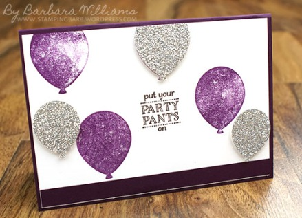 By Barbara Williams | Stampin' Up! Sale-a-Bration | Party Pants