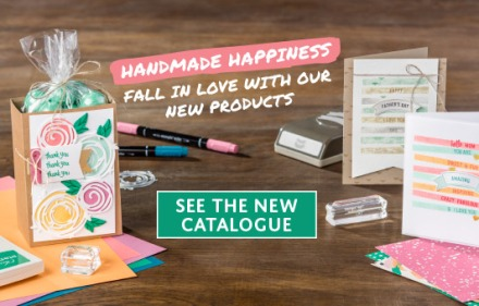 See the new Stampin' Up! Catalogue