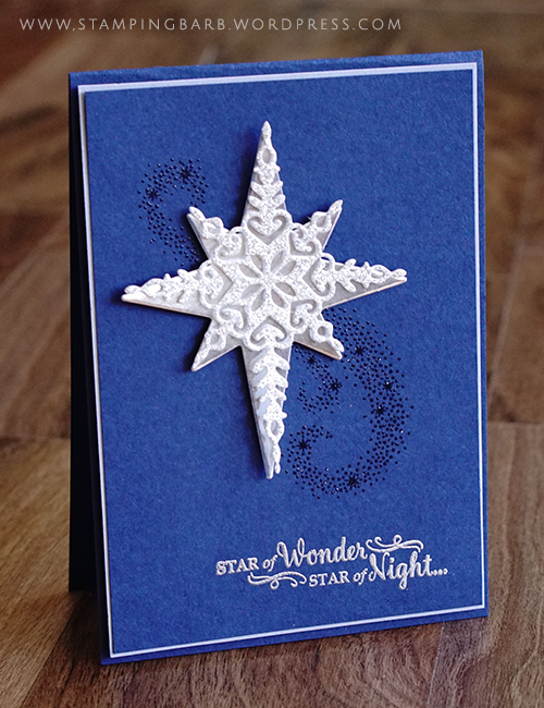 Barbara Williams| Star of Light|Stampin' Up!