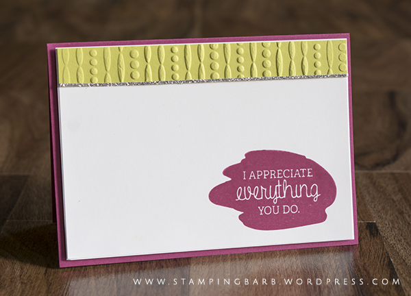 By Barbara Williams | Stampin' Up! Australia | Just Add Text Stamp Set