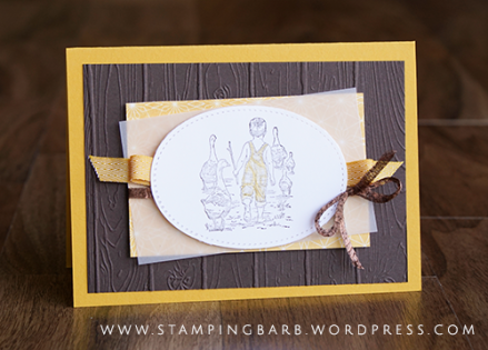 By Babara Williams | Heartland Stamp Set from Stampin Up