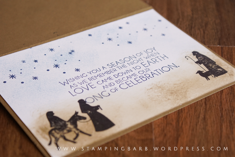 By Barbara Williams | Night In Bethlehem Bundle from Stampin' Up!