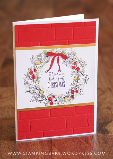 By Barbara Williams | Stampin' Up! Feeling of Christmas
