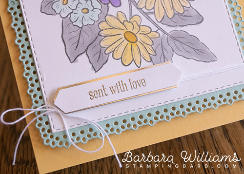 By Barbara Williams using Ornate Style Bundle from Stampin Up