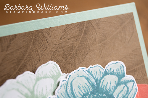 By Barabara Williams | Tasteful Touches Stampin' Up!
